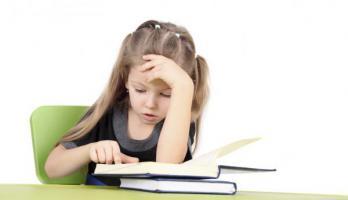 Dislexia en niños.